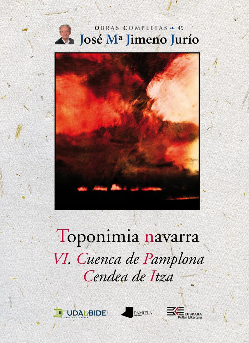 Toponimia Navarra. VI. Cuenca de Pamplona. Cendea de Itza