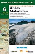 MAPA EXCURSIONISTA ANETO-MALADETAS