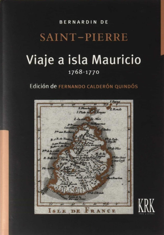 Viaje a isla Mauricio (1768-1770)