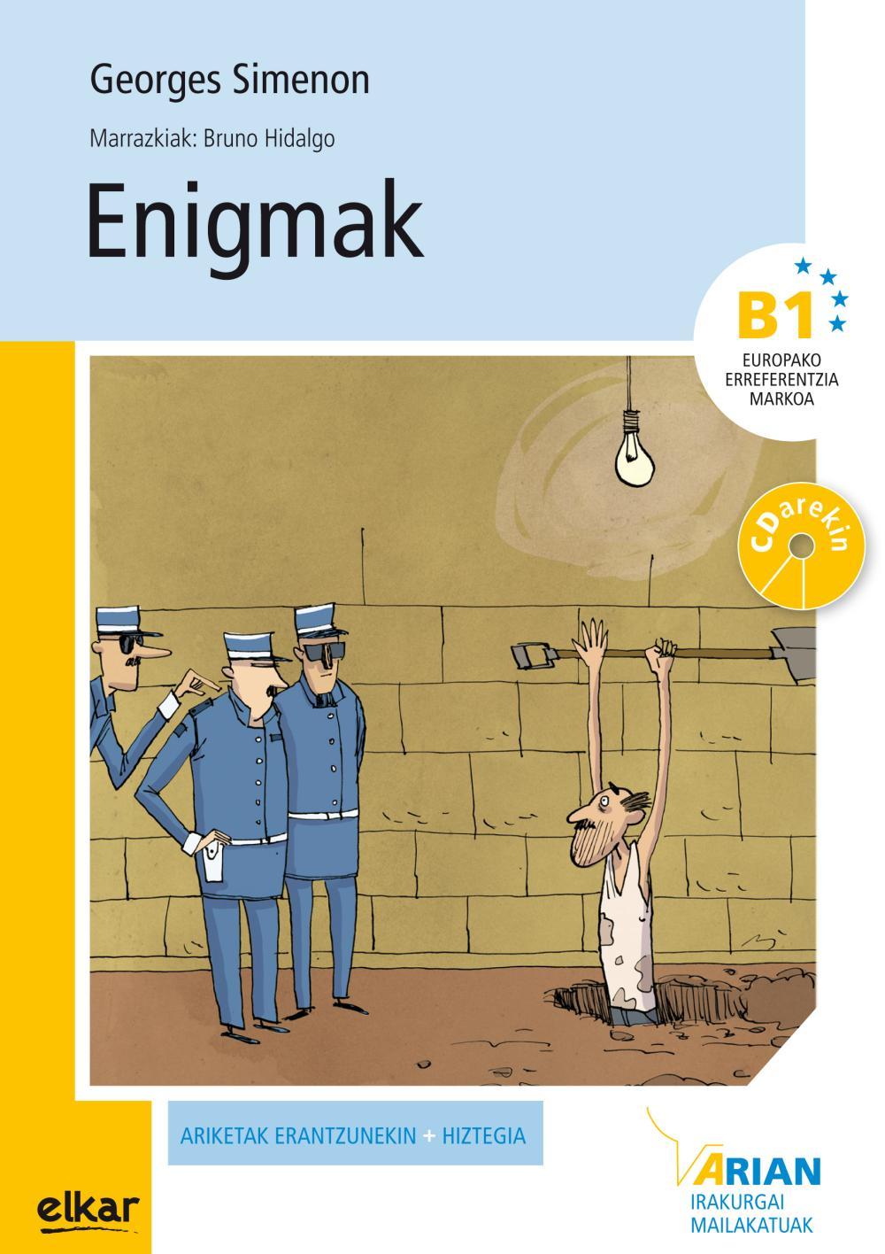 Enigmak (+CD audioa)