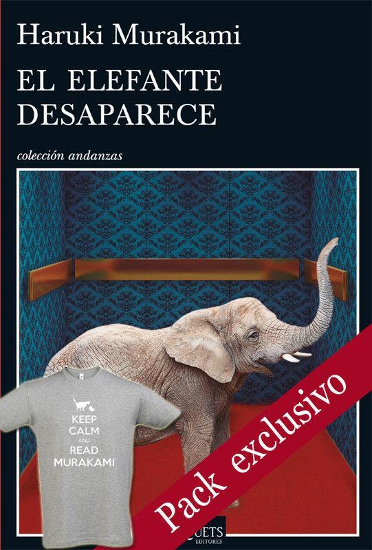 PACK LIBRO EL ELEFANTE DESAPARECE + CAMISETA KEEP