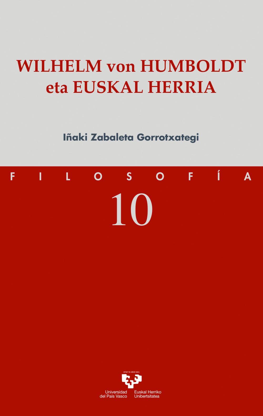 Wilhelm von Humboldt eta Euskal Herria