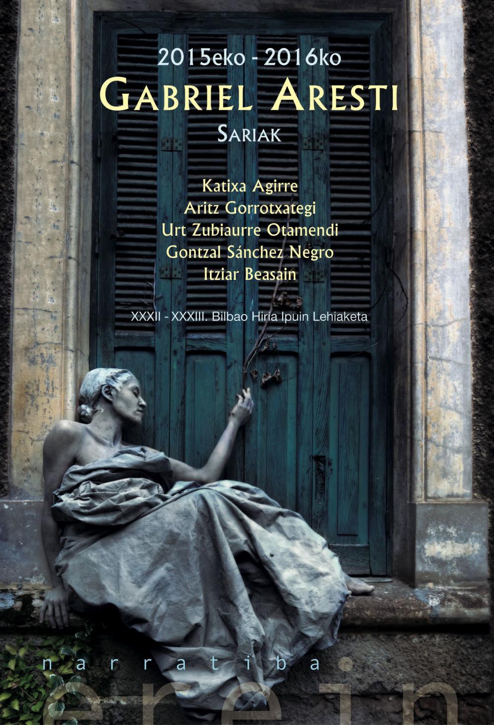 2015eko-2016ko Gabriel Aresti Sariak