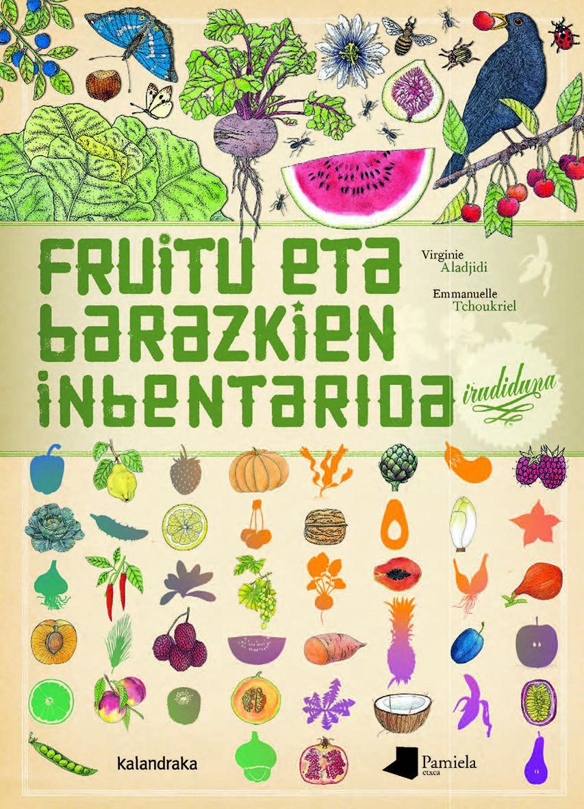 Fruitu eta barazkien inbentarioa irudiduna