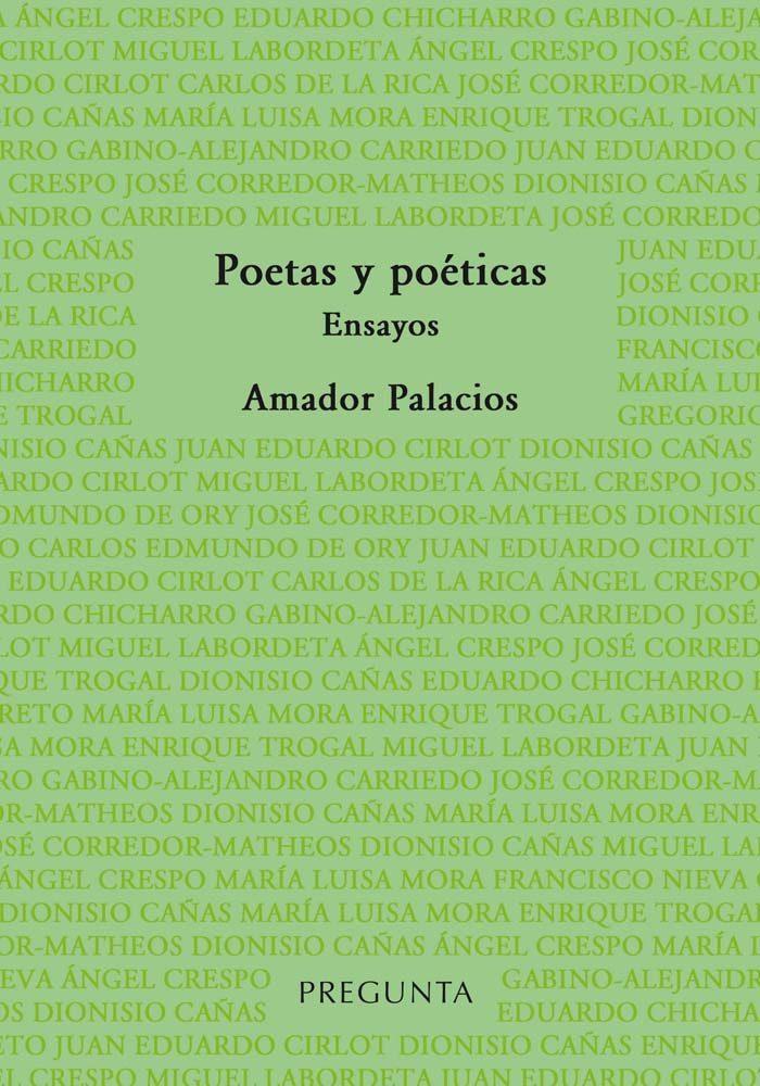 Poetas y poéticas