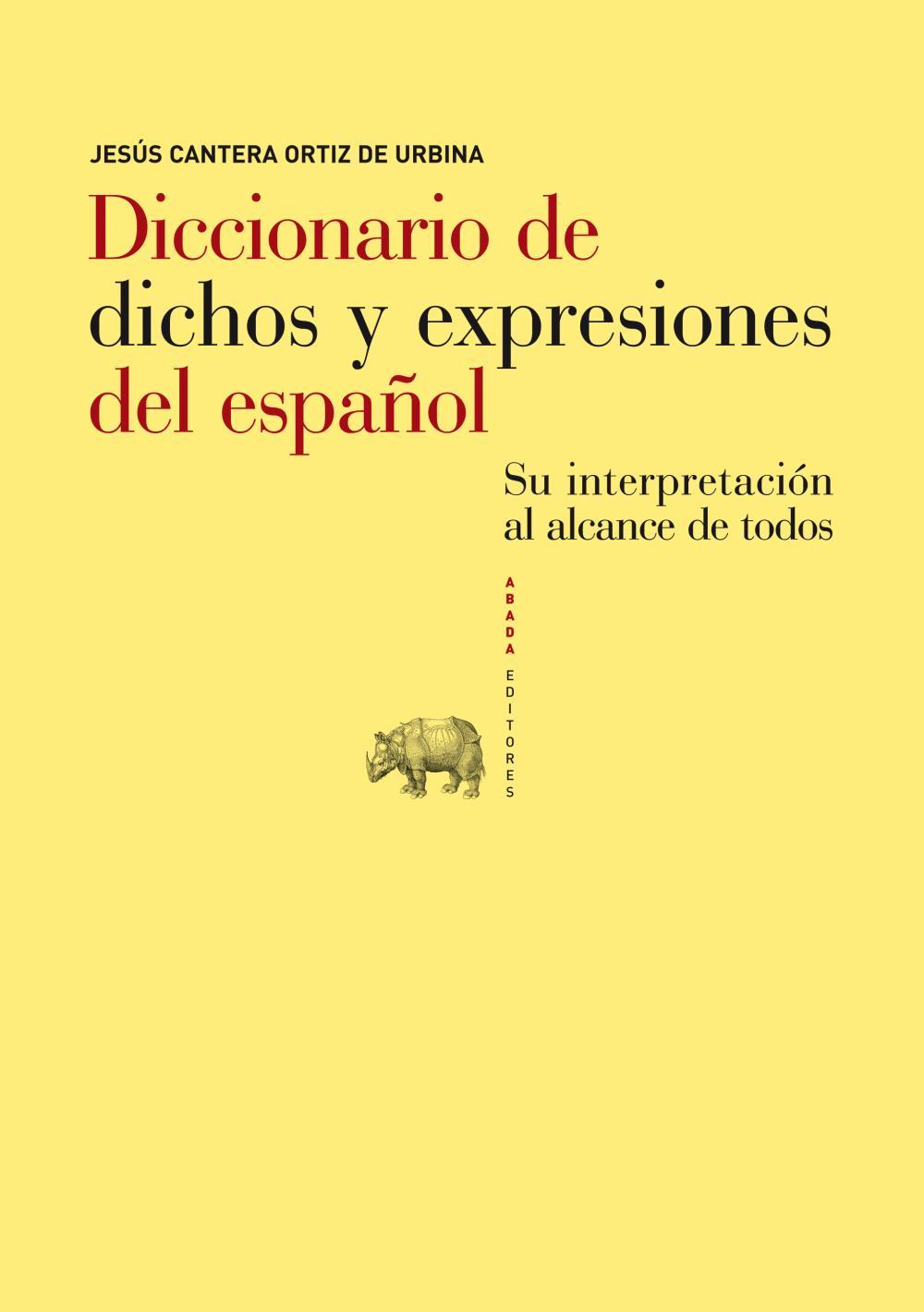 Diccionario de dichos y expresiones del español