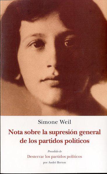 NOTA SOBRE LA SUPRESIÓN GENERAL DE LOS PARTIDOS