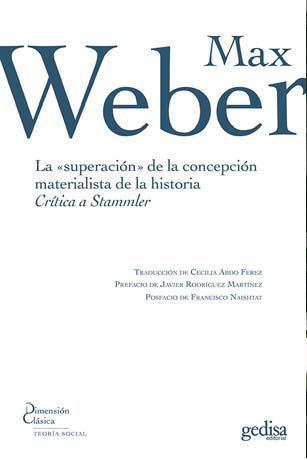 La superación de la concepción materialista de la historia
