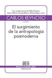 El surgimiento de la antropología  posmoderna