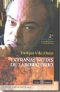 EXTRAÑAS NOTAS DE LABORATORIO
