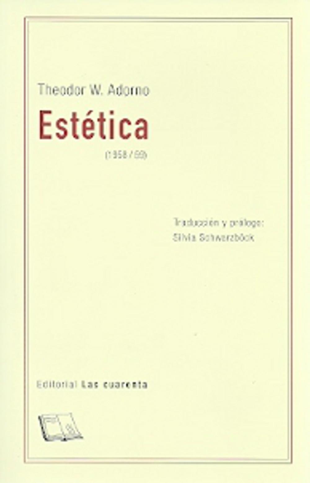 ESTÉTICA (1958/59)